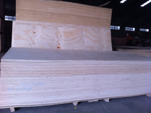 Premium Pine Faced Plywood
